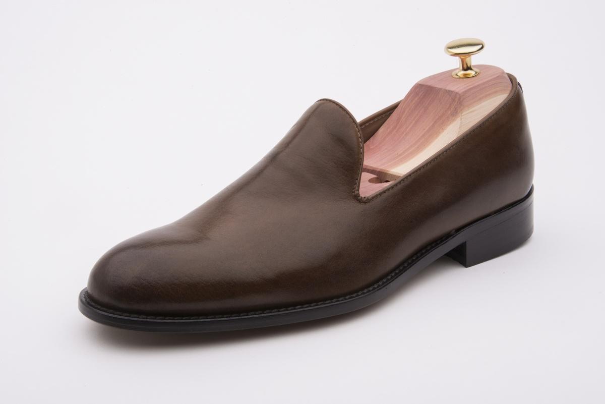 Biorn Marrón Oscuro Mocasín Zapatillas Zapatos FulKJ5Tc31